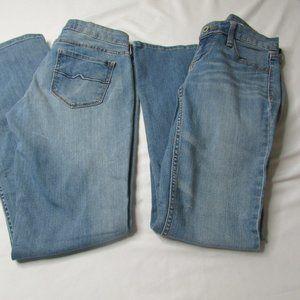 2 Arizona Jeans Juniors 3 Short Bootcut Light Wash
